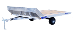Open Snow mobile Trailer